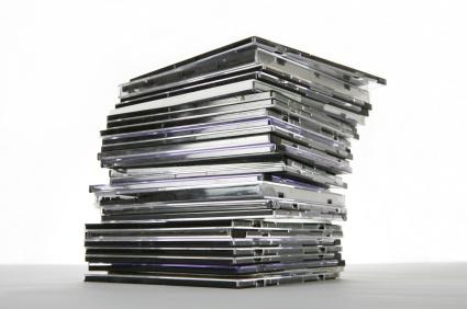 Auftragsablauf einer CD Pressung